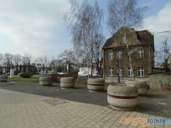 skwer przy ul. Ściegiennego/Głogowska - obecnie  Foto: ZDM