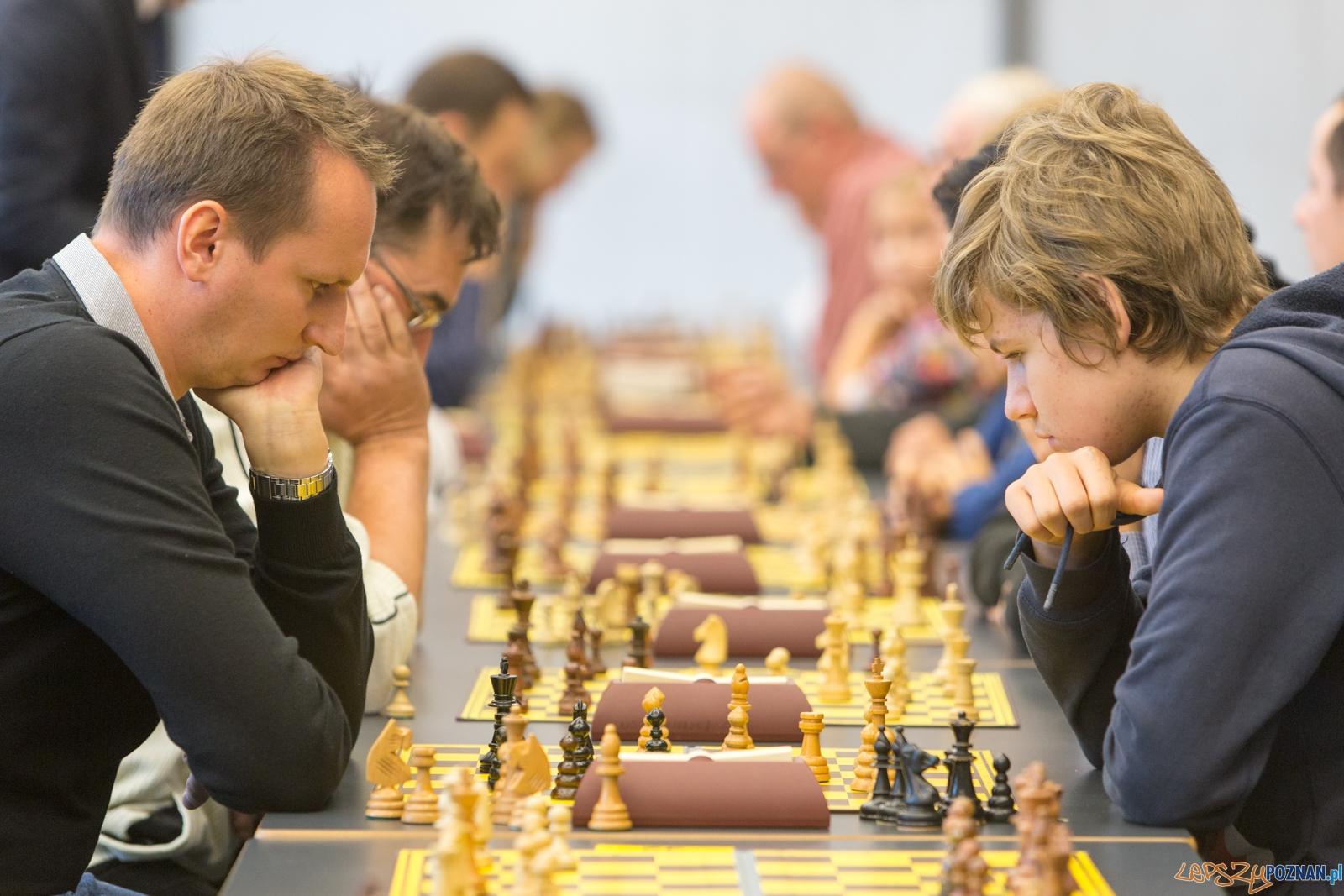 ChessManager Grand Prix - Turniej Szachowy w Bramie Poznania  Foto: lepszyPOZNAN.pl / Piotr Rychter