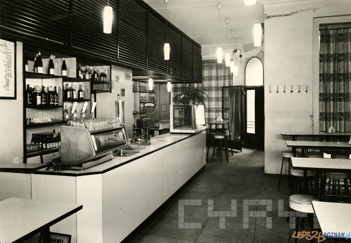 Bufet Podbipieta przy Wroclawskiej 1960-69  Foto: Cyryl