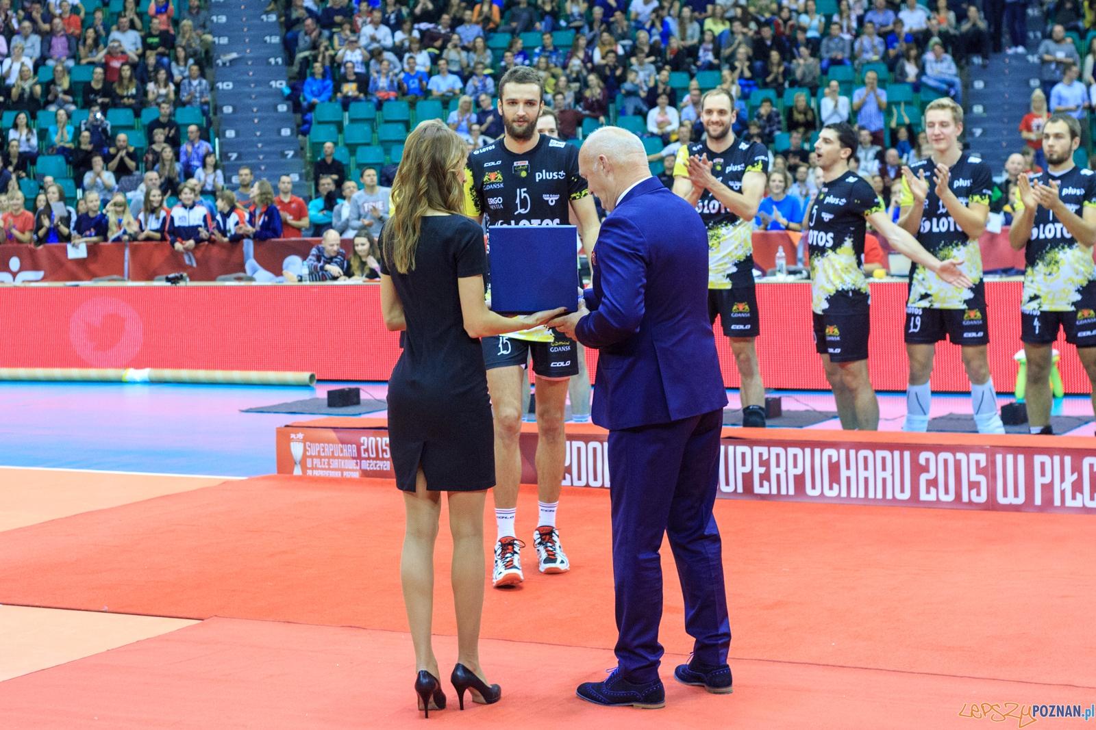 Superpuchar 2015 w piłce siatkowej mężczyzn: Asseco Resovia  Foto: lepszyPOZNAN.pl / Piotr Rychter