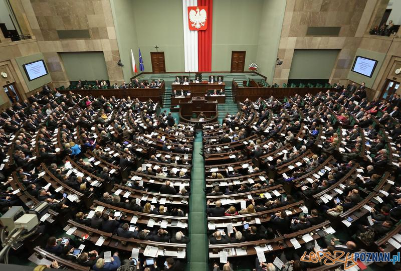 Sejm  Foto: Sejm