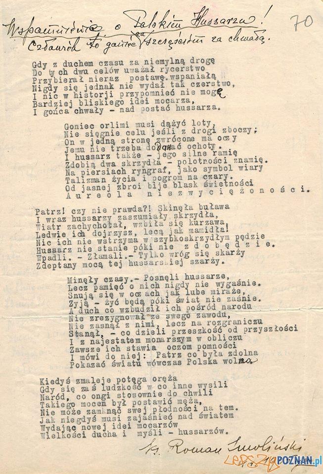 Uroczystości ku czci Pulaskiego 11.10.1929  Foto: Archiwum Państwowe w Poznaniu