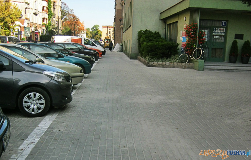Jak parkować na ul. Matejki?  Foto: ZDM