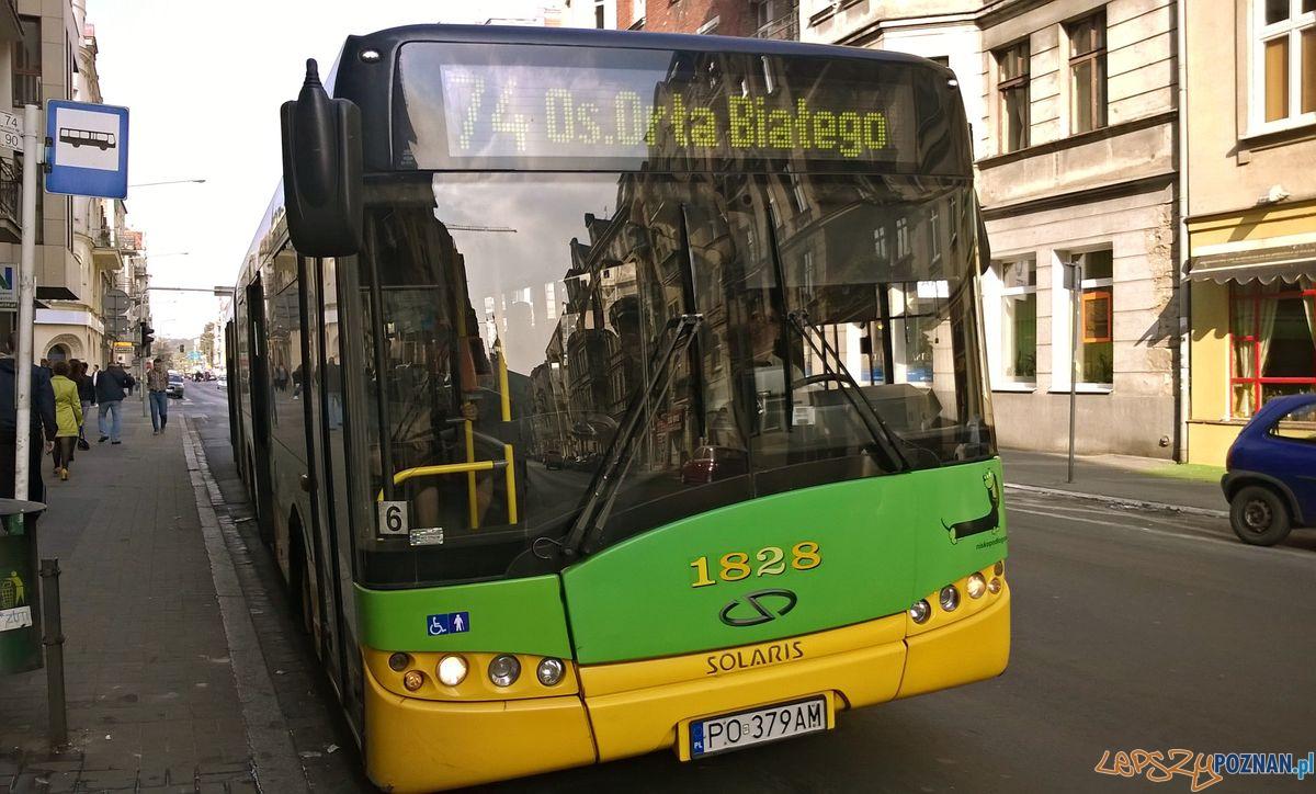Autobus 74  Foto: lepszyPOZNAN / TD