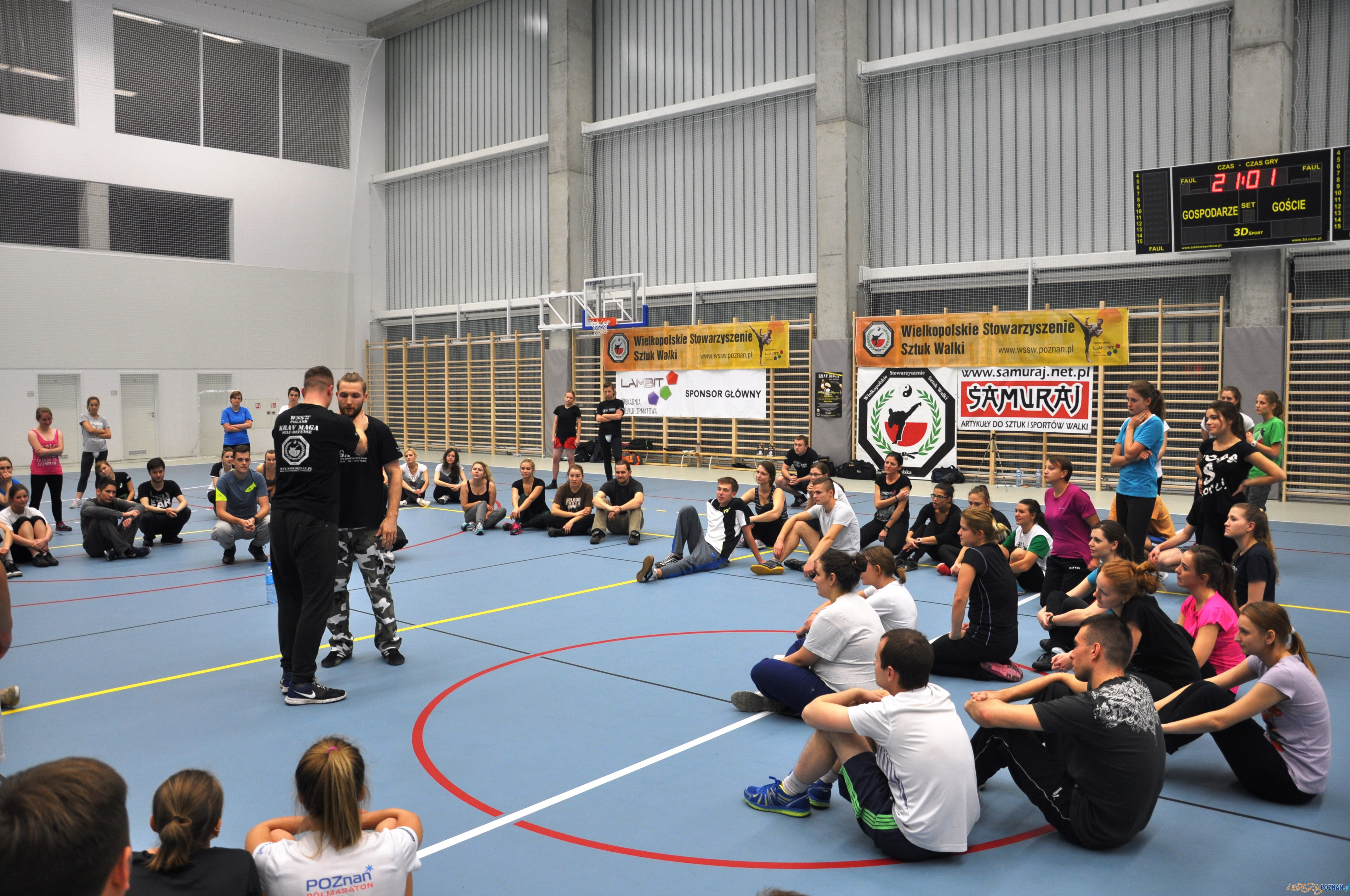 Seminaria Samoobrony Krav Maga WSSW Poznań  Foto:  WSSW Poznań
