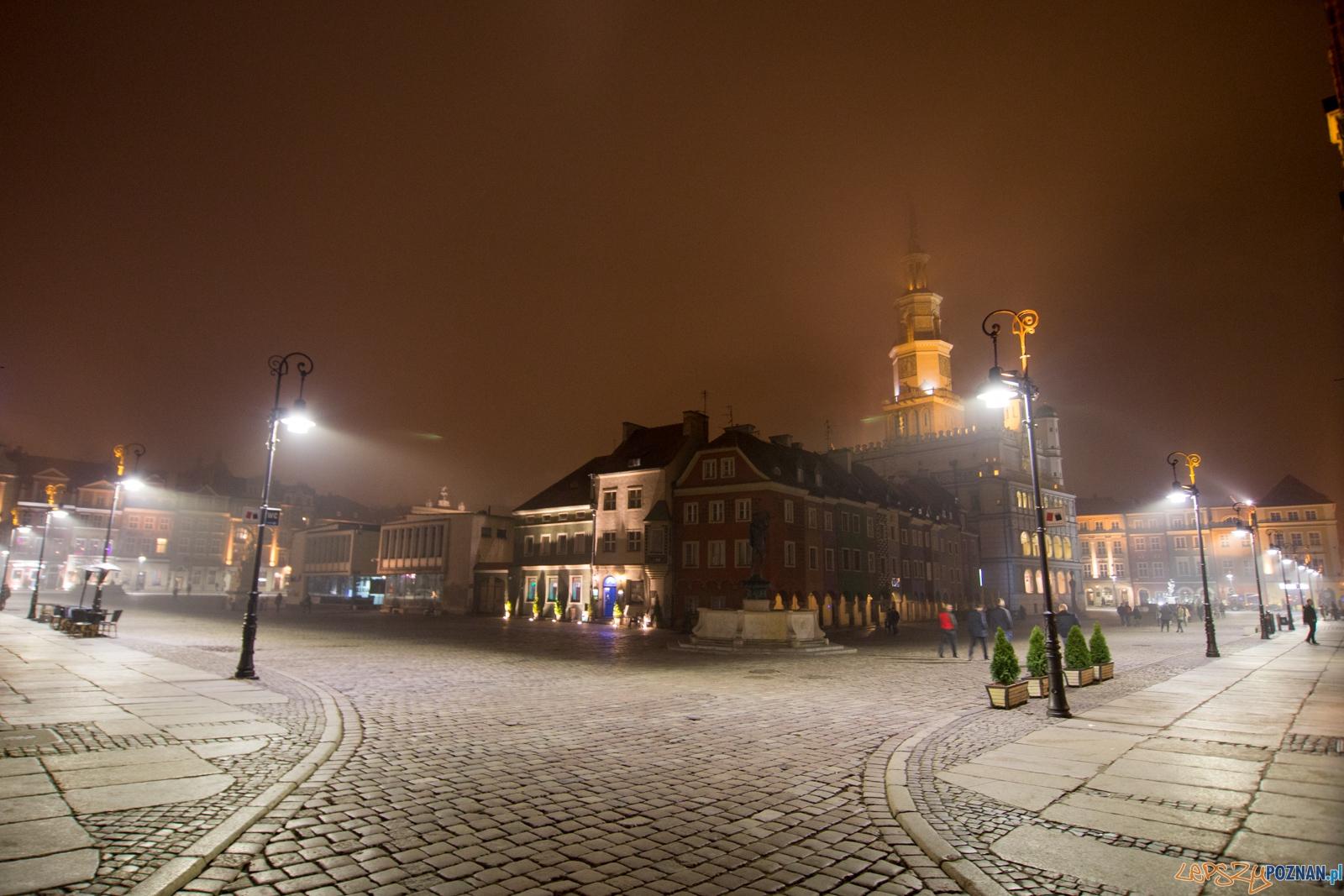 Ledowy Stary Rynek  Foto: lepszyPOZNAN.pl / Piotr Rychter