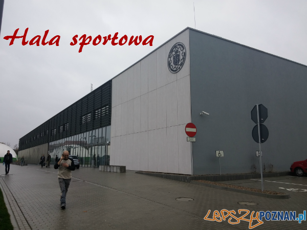 Hala Sportowa Politechniki  Foto: NZS PP