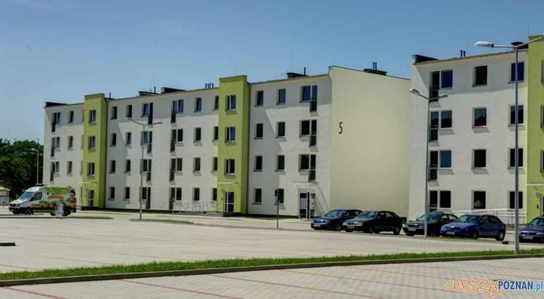 Mieszkania komunalne przy ul. Łaskarza  Foto: Tomasz Kowalka / ZKZL