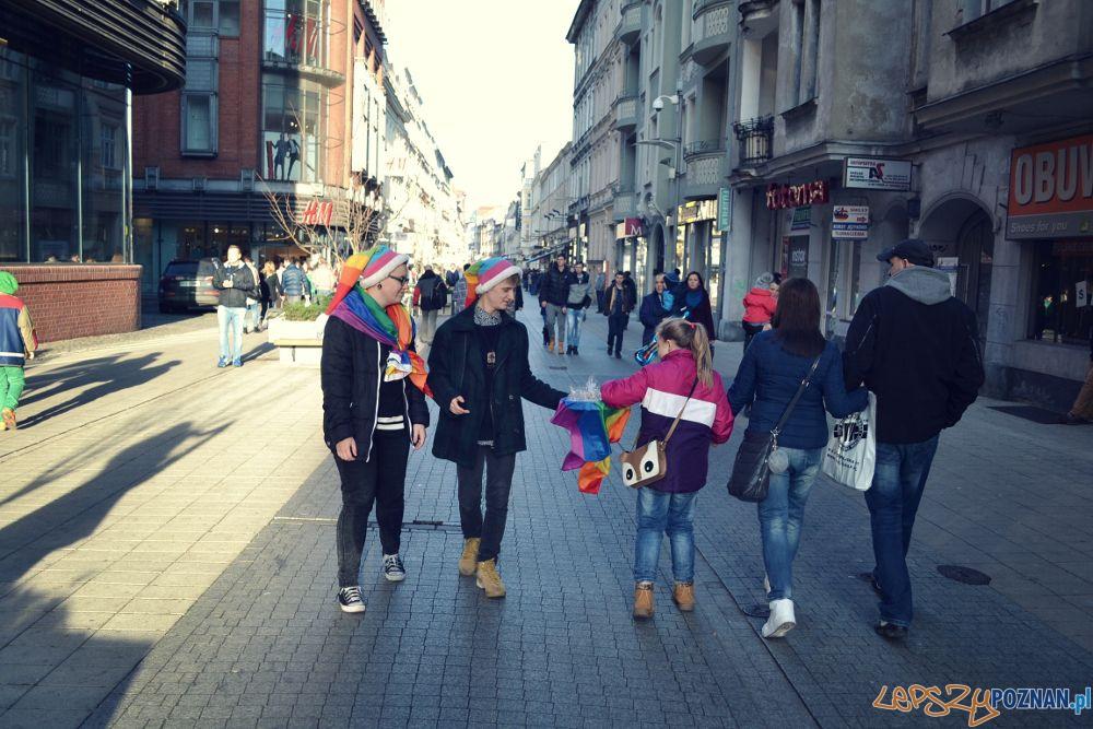 Tęczowych Świąt życzyli aktywiści Grupy Stonewall  Foto: materiały prasowe