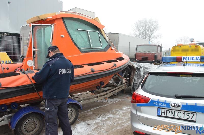 Skradziona motorówka  Foto: KWP w Gdańsku