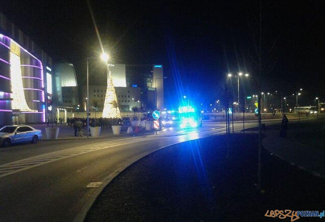 Ewakuacja City Center  Foto: zdjęcie czytelnika