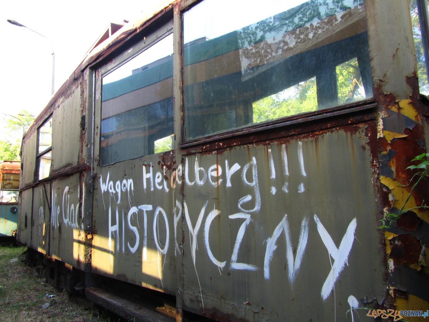 Historyczny wagon tramwajowy  Foto: Błażej Brzycki / KMPS