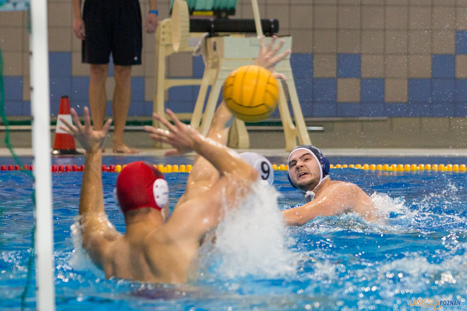 Malta Waterpolo Cup 2015 (Waterpolo Poznań – OCMER UŁ ŁSTW)  Foto: lepszyPOZNAN.pl / Piotr Rychter
