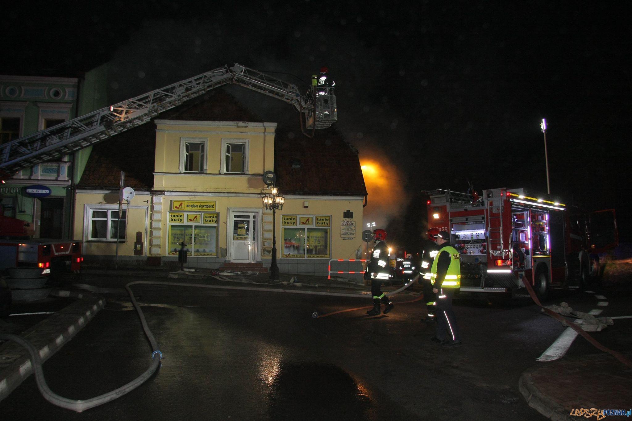 Tragiczny pożar w Pobiedziskach  Foto: UMiG Pobiedziska