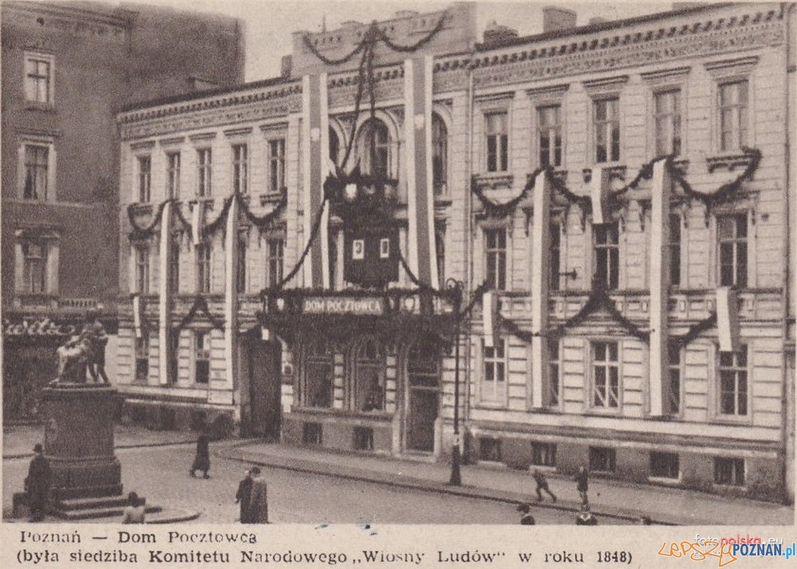 Pałac Anderschów u wylotu Podgórnej - przed wojną  Foto: fotopolska