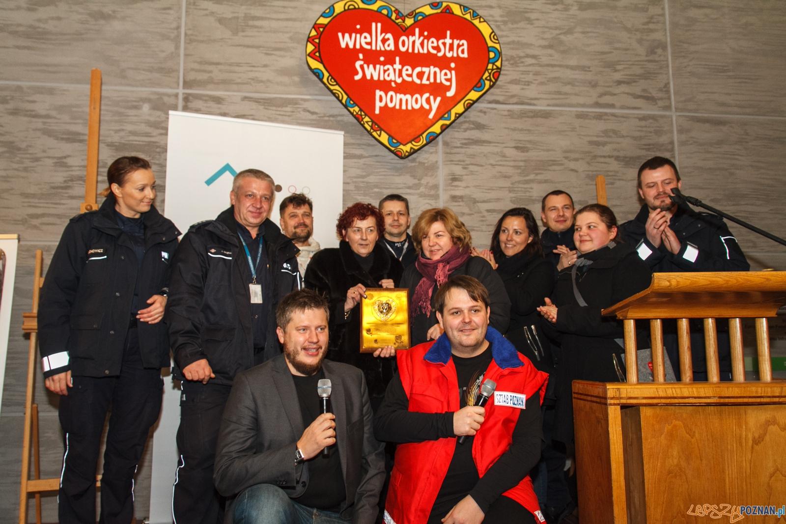 24 finał WOŚP - licytacje - Poznań 10.01.2016 r.  Foto: LepszyPOZNAN.pl / Paweł Rychter