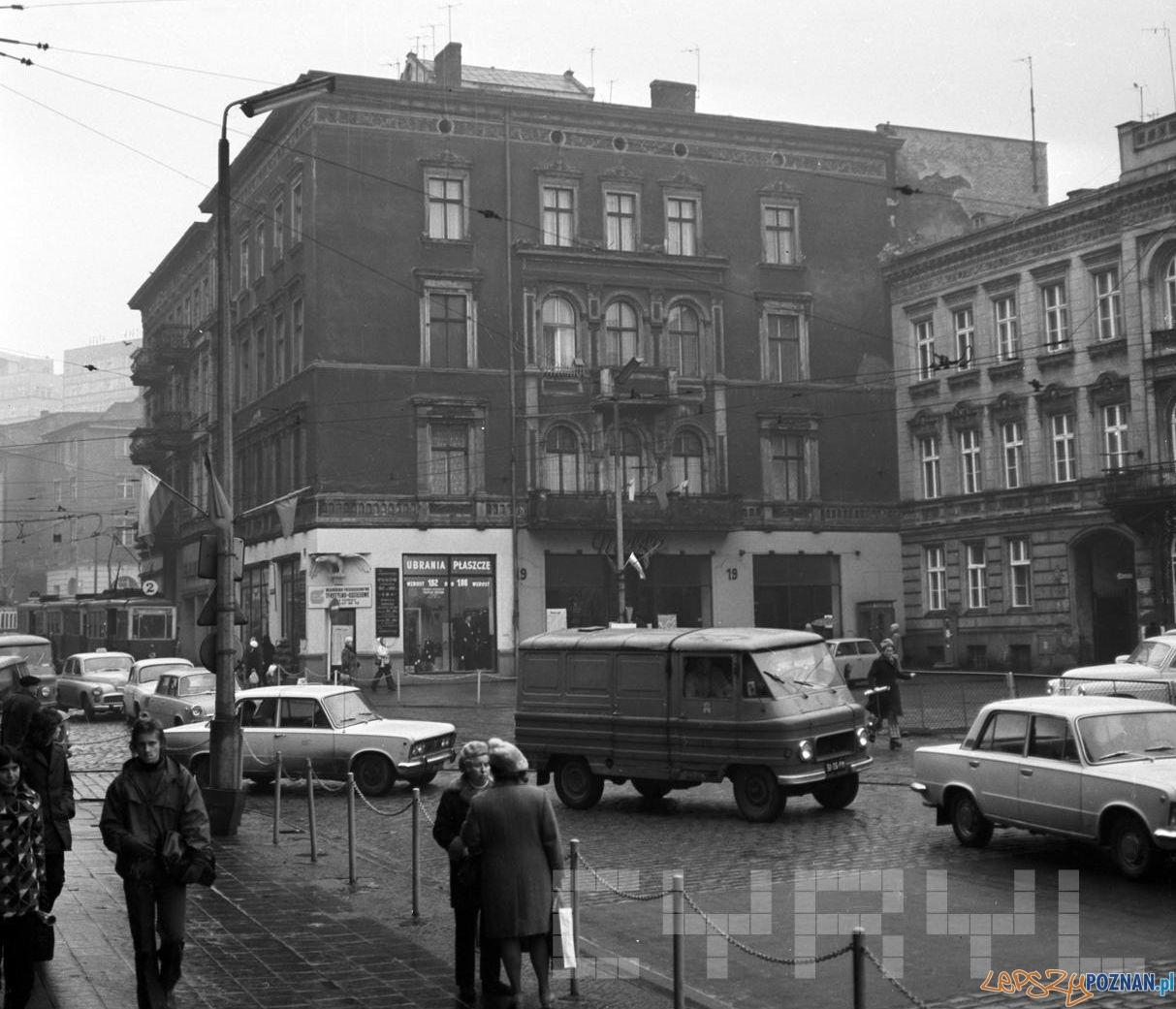 Ul. Walki Młodych (Podgórna) - Aleje Marcinkowskiego 1973  Foto: Cyryl