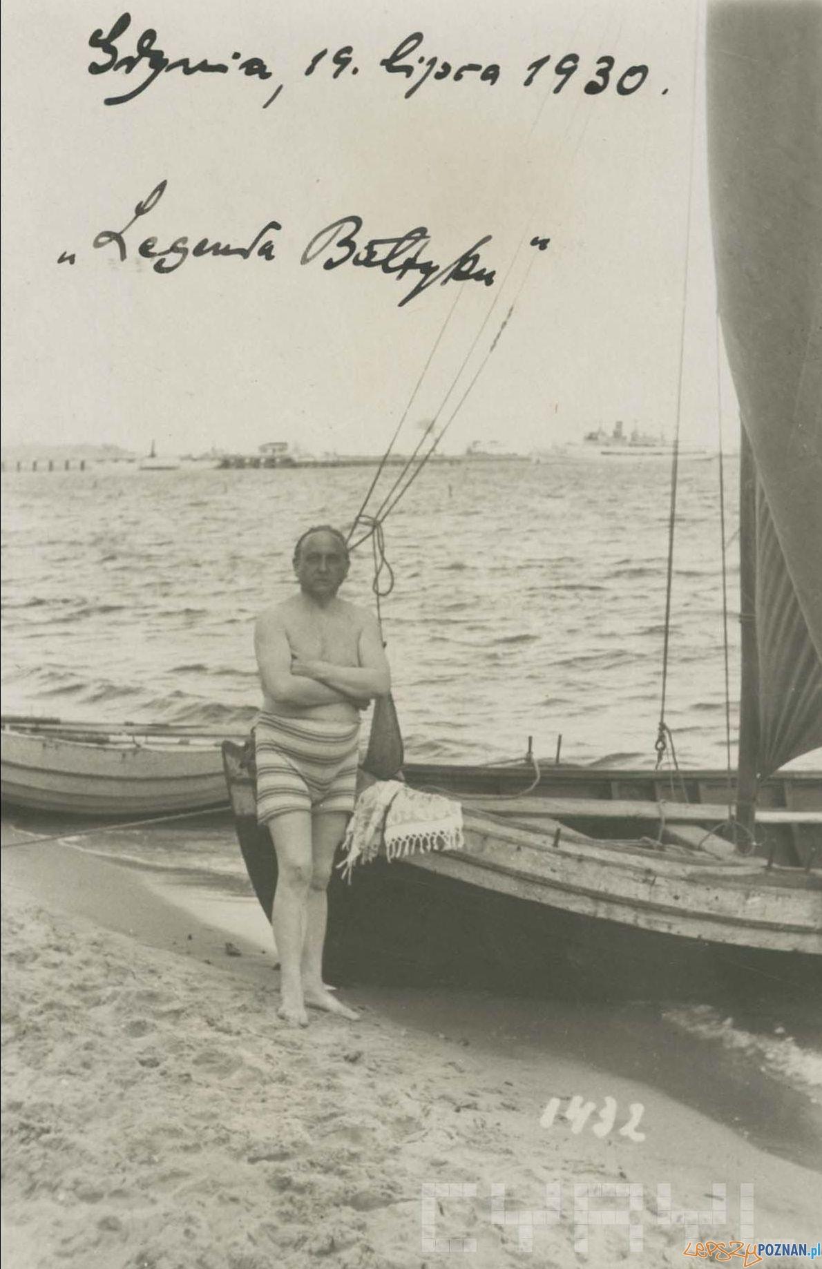 Nowowiejski w Gdynii 1930  Foto: Archiwum Nowowiejskich / Cyryl