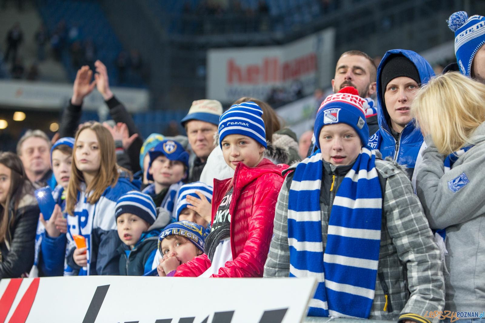 22. kolejka Ekstraklasy Lech Poznań - Termalica Bruk-Bet Niecie  Foto: lepszyPOZNAN.pl / Piotr Rychter