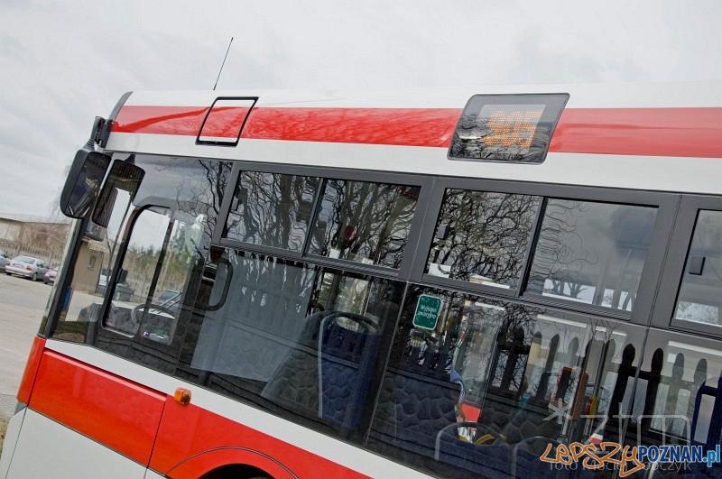Nowe standardy informacji w poznańskich autobusach  Foto: ZTM