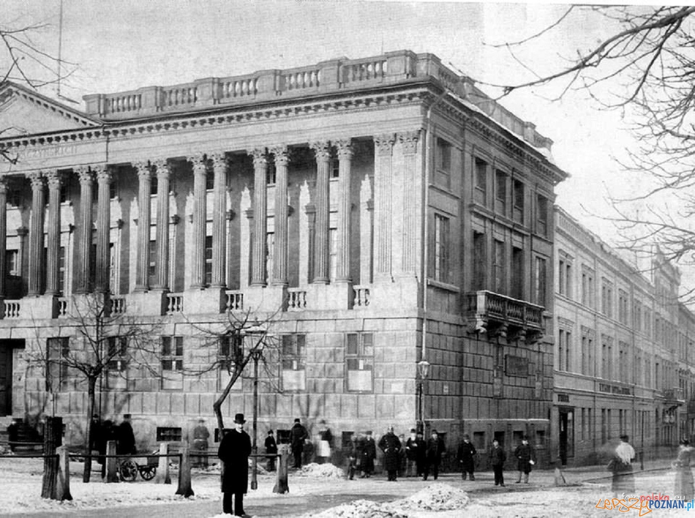 Biblioteka Raczynskich Lata 1898-1903  Foto: Biblioteka Uniwersytecka / fotopolska