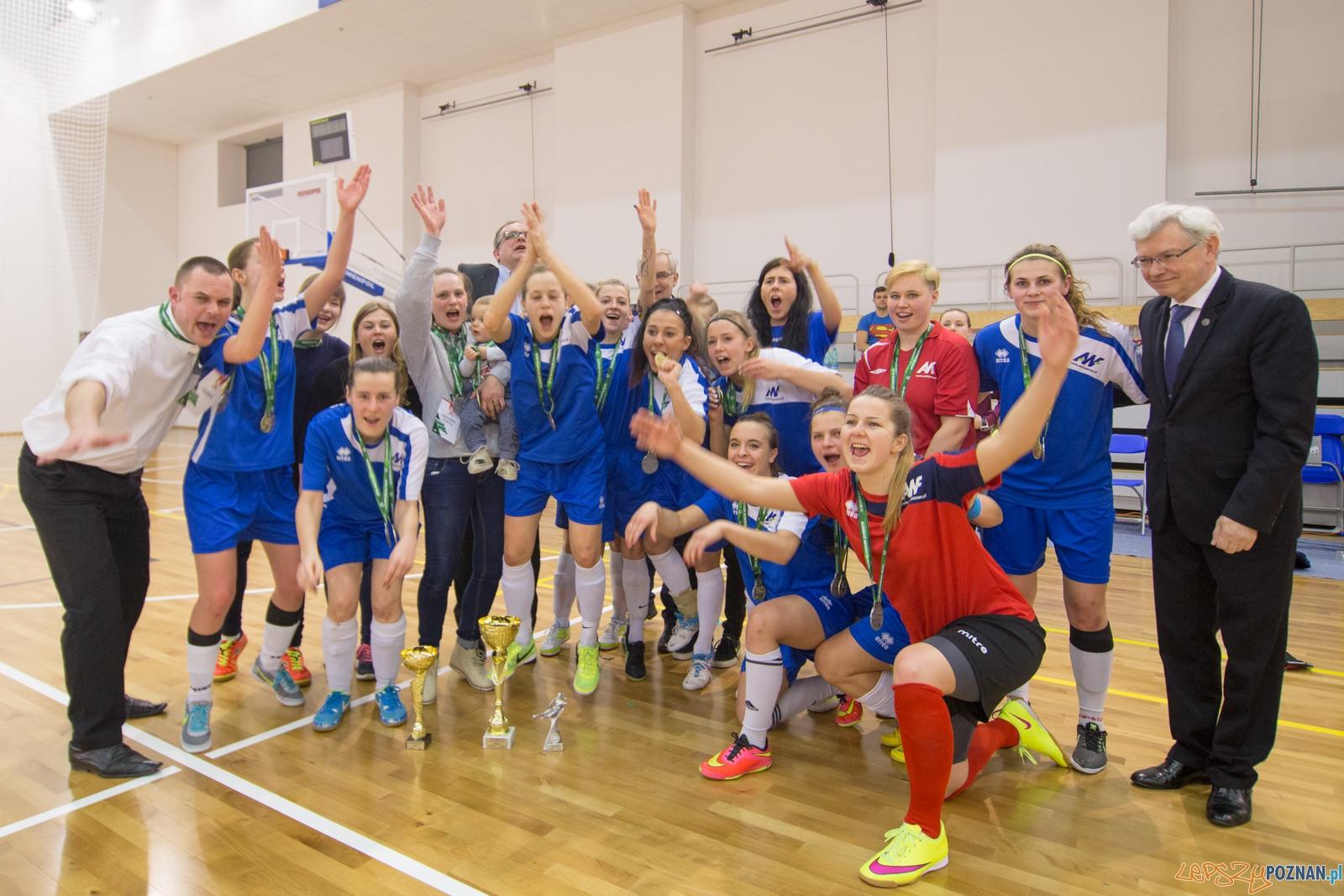Finał Akademickich Mistrzostw Polski w Futsalu Kobiet  Foto: lepszyPOZNAN.pl / Piotr Rychter