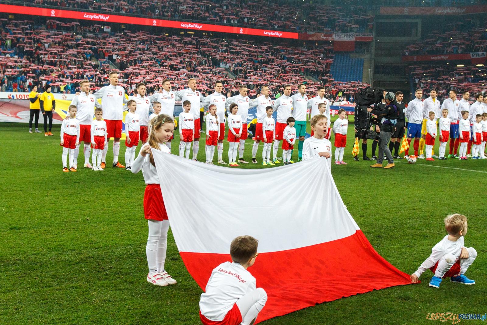 Mecz towarzyski: Polska - Serbia 1:0 - Poznań 23.03.2016 r.  Foto: LepszyPOZNAN.pl / Paweł Rychter