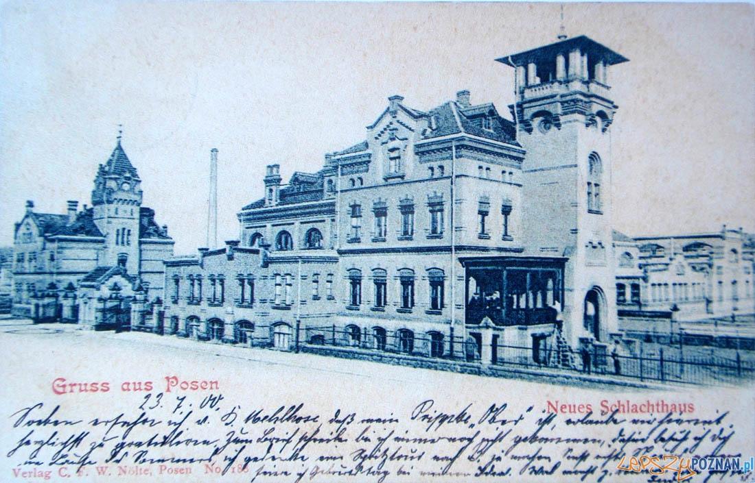 Stara Rzeźnia  Foto: Kolekcja pocztówek Biblioteki Uniwersyteckiej