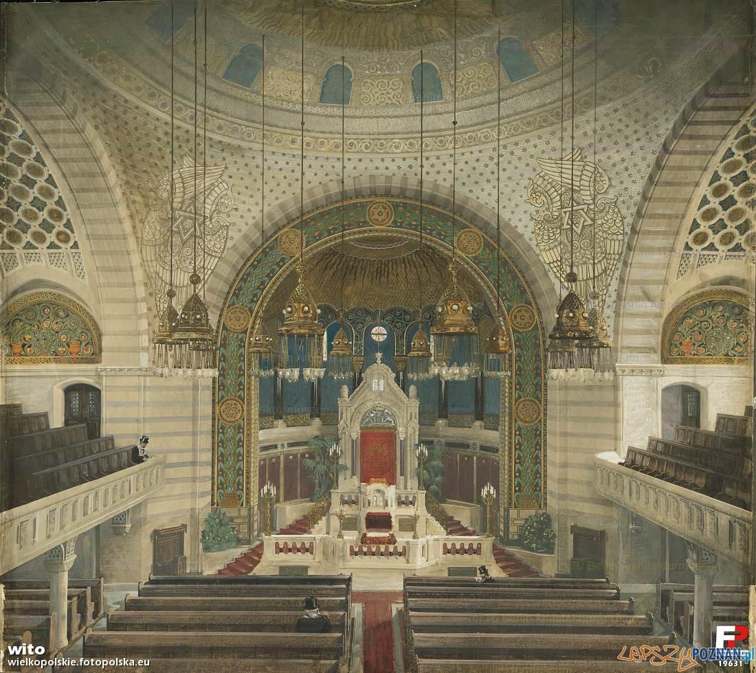 Stara Synagoga - 1906 r  Foto: