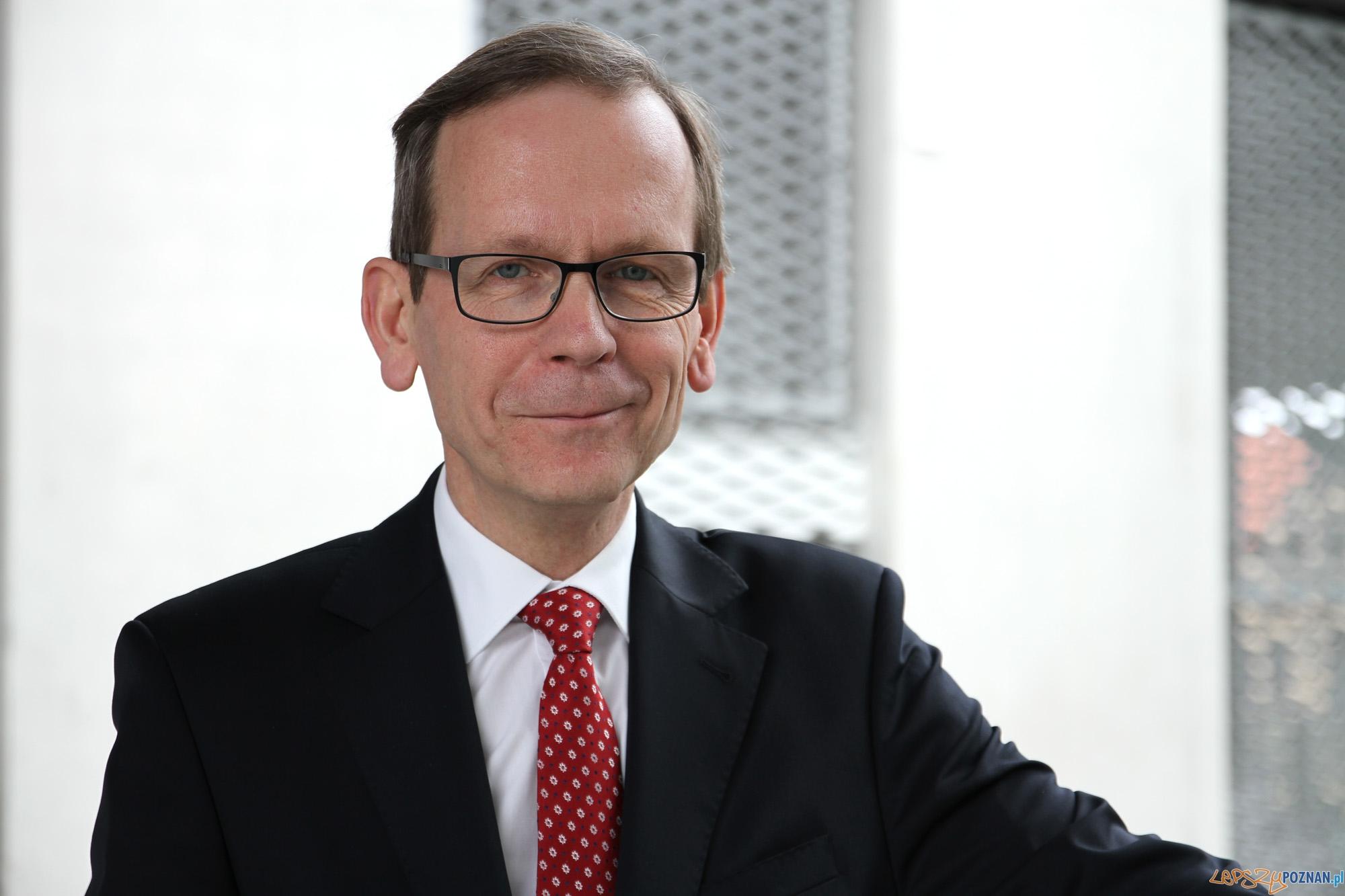 Rektor Maciej Żukowski  Foto: UEP