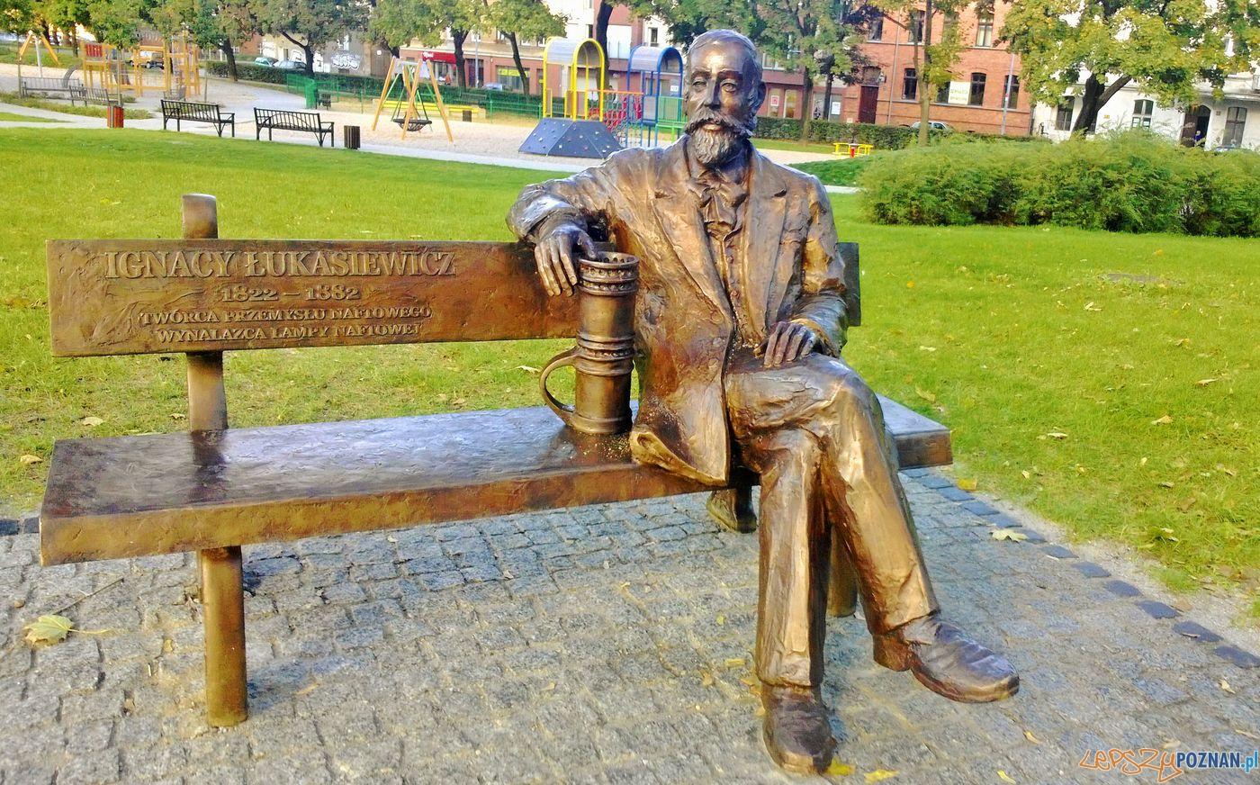 Ławeczka Łukaszewicza  Foto: