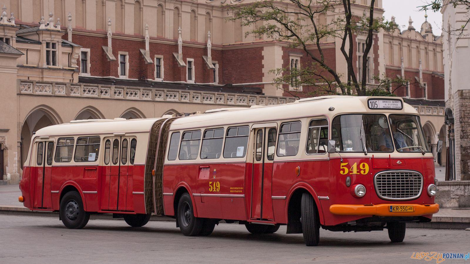 Turystyczny ogórek z Krakowa  Foto: KMPS