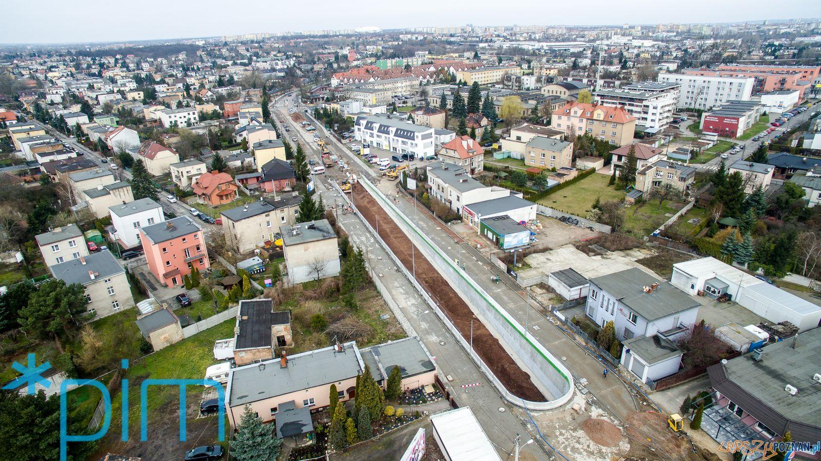 Remont Czechoslowackiej z drona (5)  Foto: