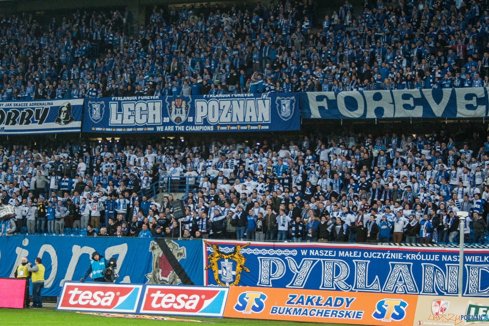 Lech Poznań - Śląsk Wrocław 0:1 (1.04.2016) 29. kolejka Ekst  Foto: © lepszyPOZNAN.pl / Karolina Kiraga