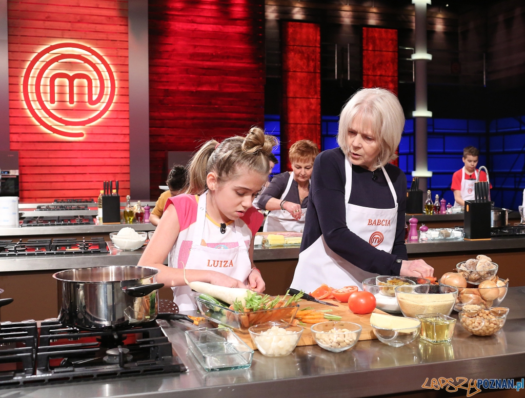 MasterChef Junior - Luiza Baaziz z babcią Łucją  Foto: MasterChef Junior