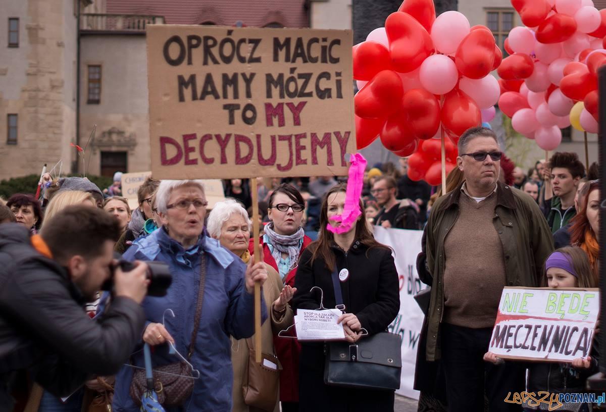 Tak dla wyboru kobiety (2)  Foto: Anna Kamińska