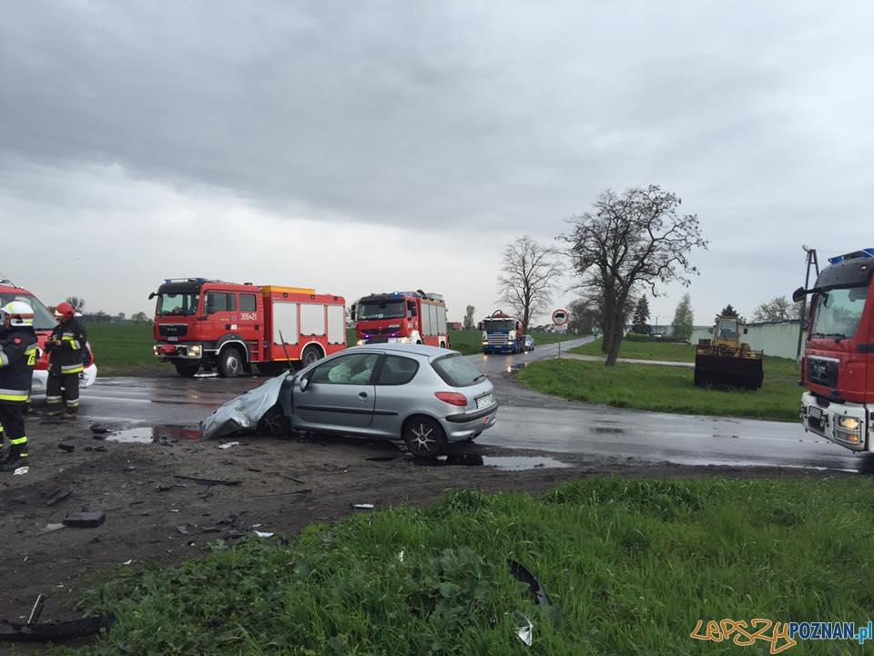 Wypadek na Głuszynie  Foto: