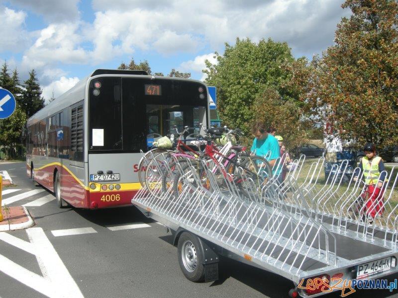 Autobusowy szlak rowerowy  Foto: Powiat Poznański