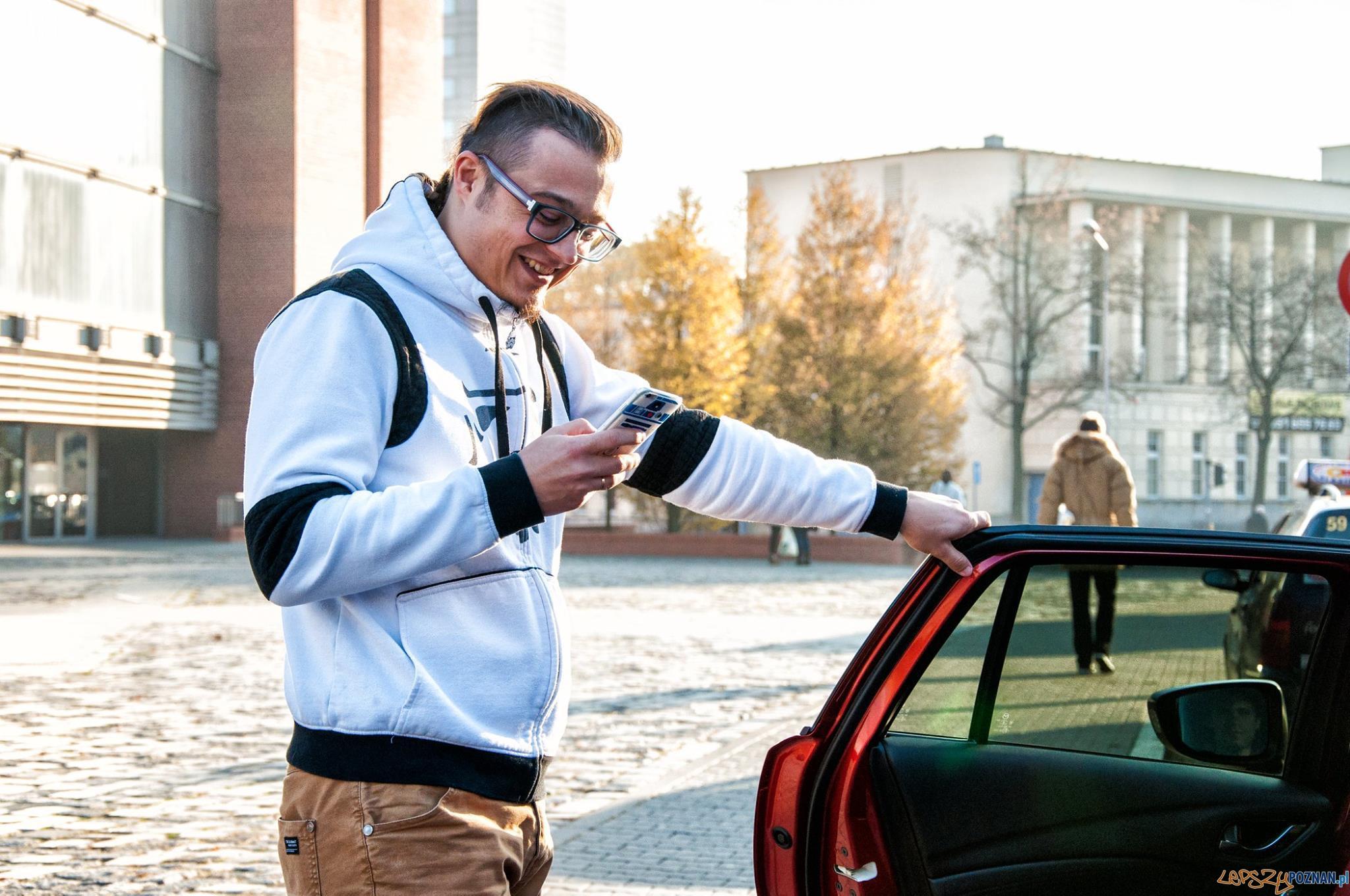 Uber Poznań  Foto: UBER