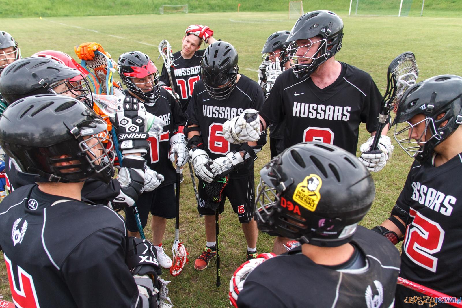 Poznań Hussars - Kraków Kings - mecz lacrosse - Poznań 29.05.  Foto: LepszyPOZNAN.pl / Pawel Rychter