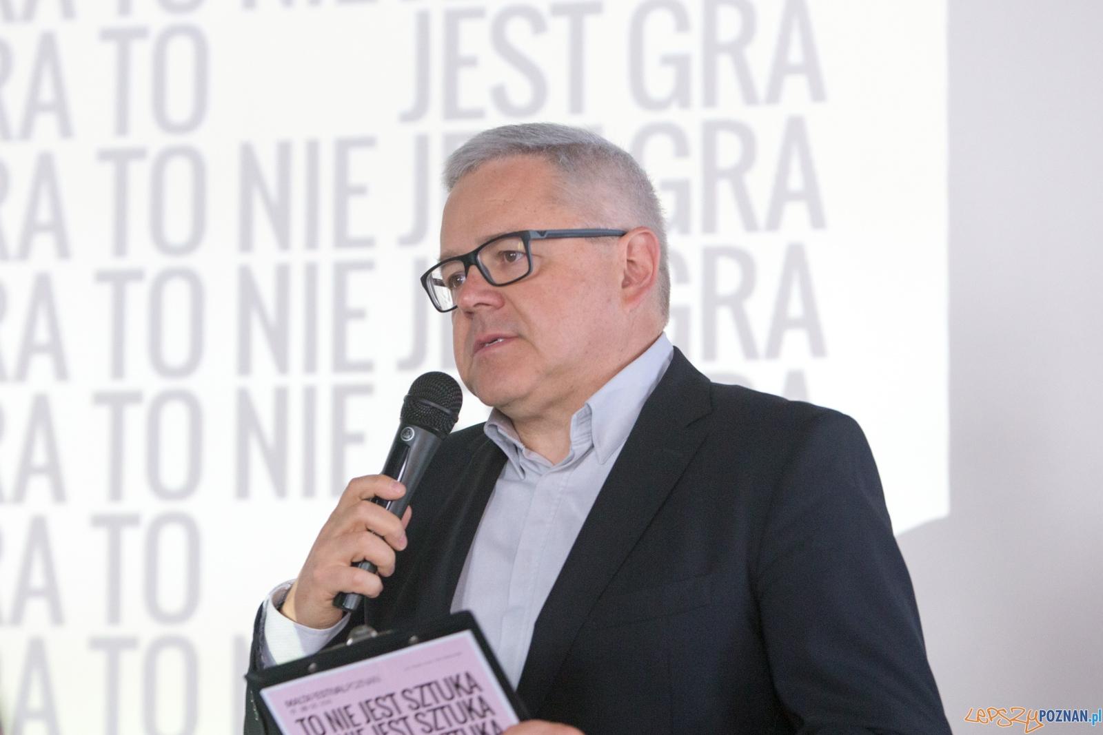 Dyrektor Festiwalu Malta - Michał Merczyński  Foto: lepszyPOZNAN.pl / Piotr Rychter