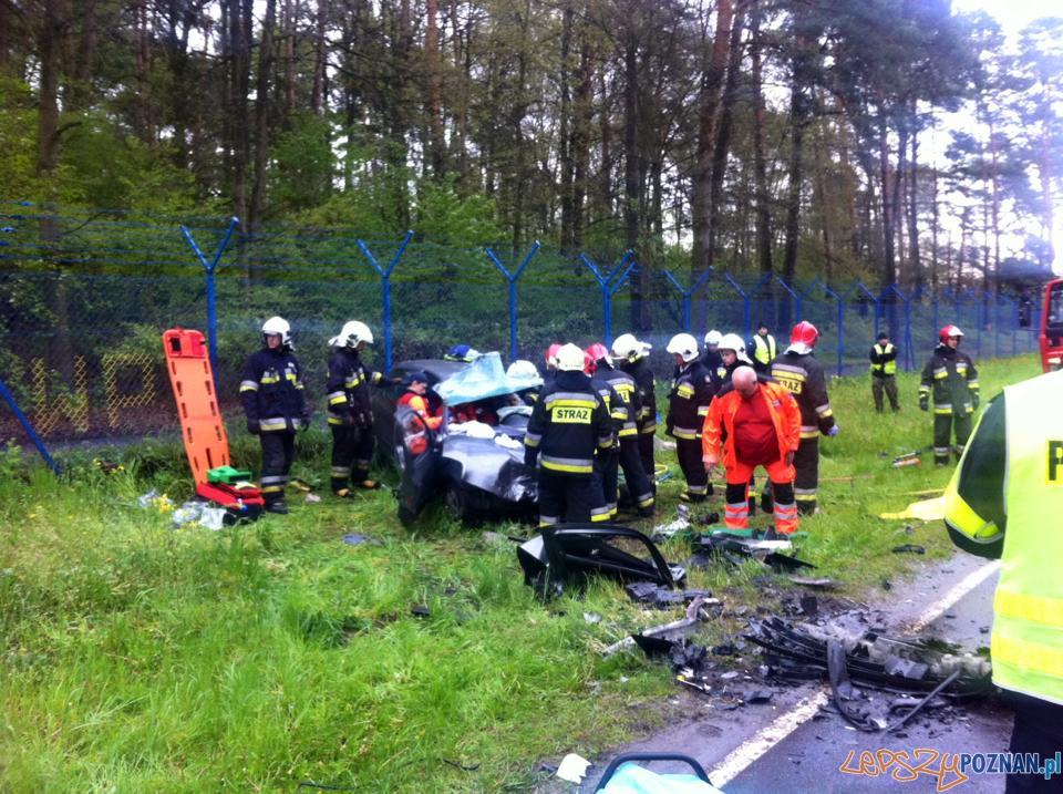 Wypadek na Głuszynie  Foto: EuroHol