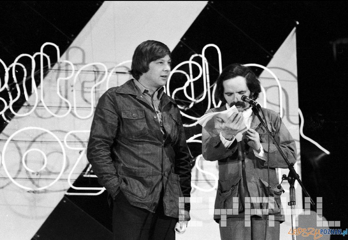 Zenon Laskowik i Bohdan Smolen - marzec 1980  Foto: Franciszek Nowakowski / Cyrtl