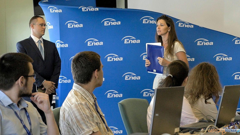 Warszataty dla stażystów  Foto: Enea / materiały prasowe