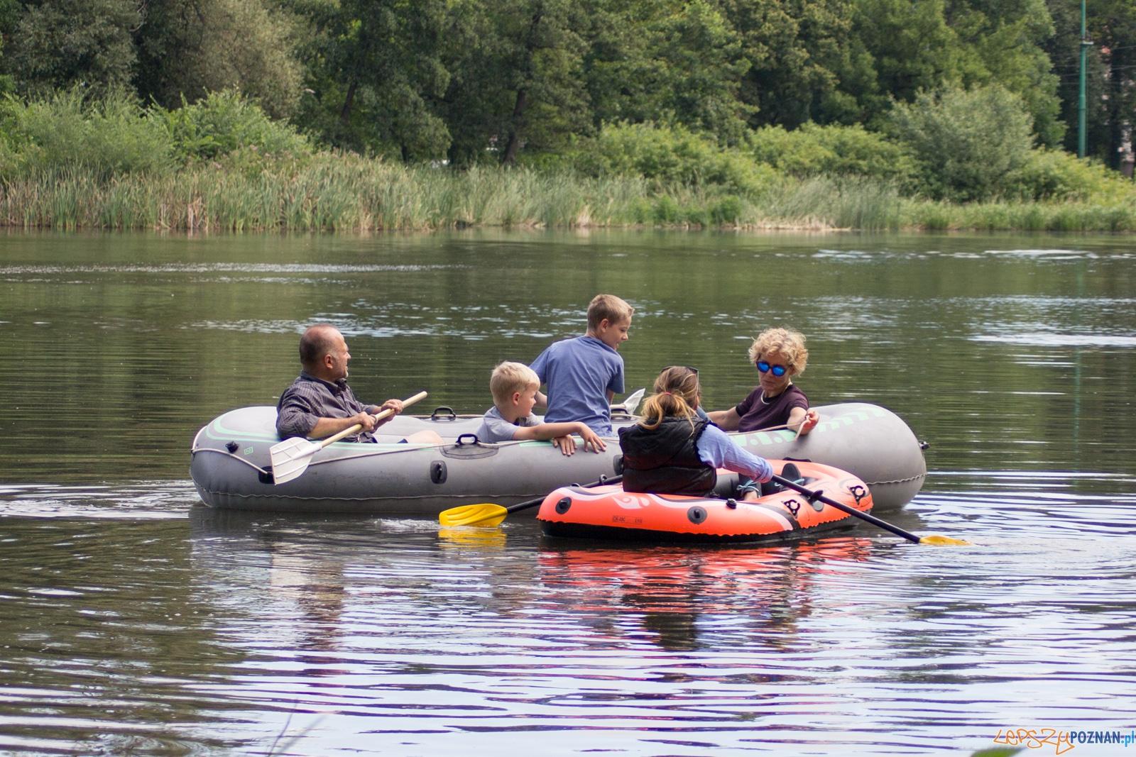 Desant pontonowy Sołacz  Foto: Ewelina Jaśkowiak