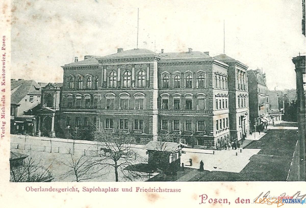 Archiwum Państwe w Poznaniu - Wyższy Sąd Krajowy (ok. 1900 r.)  Foto: fotopolska
