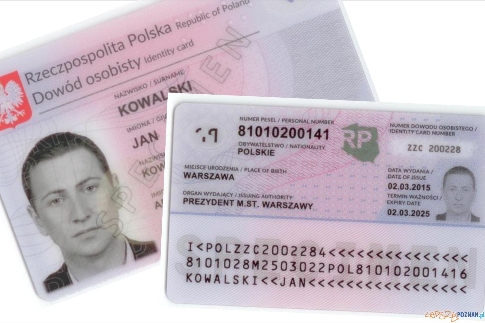 nowy dowód osobisty  Foto: obywatel.gov.pl