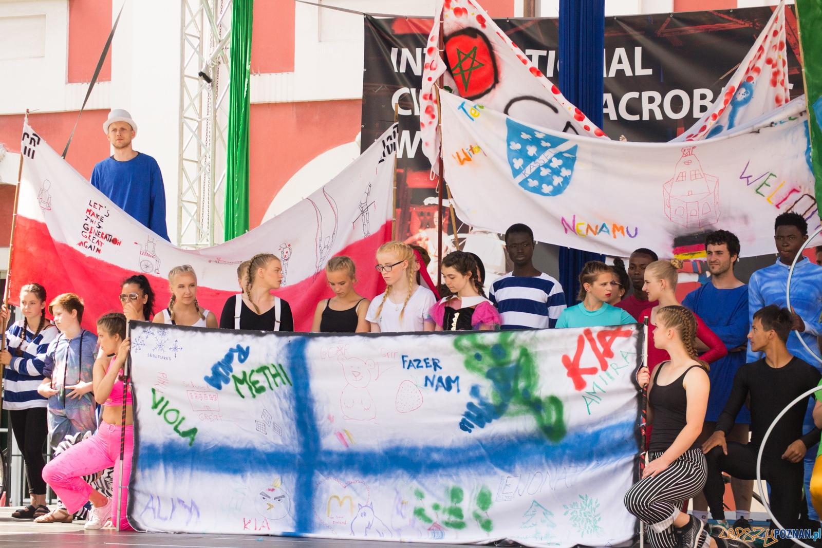 I Międzynarodowe Warsztataty Akrobatyczno – Cyrkowe  Foto: Ewelina Jaśkowiak