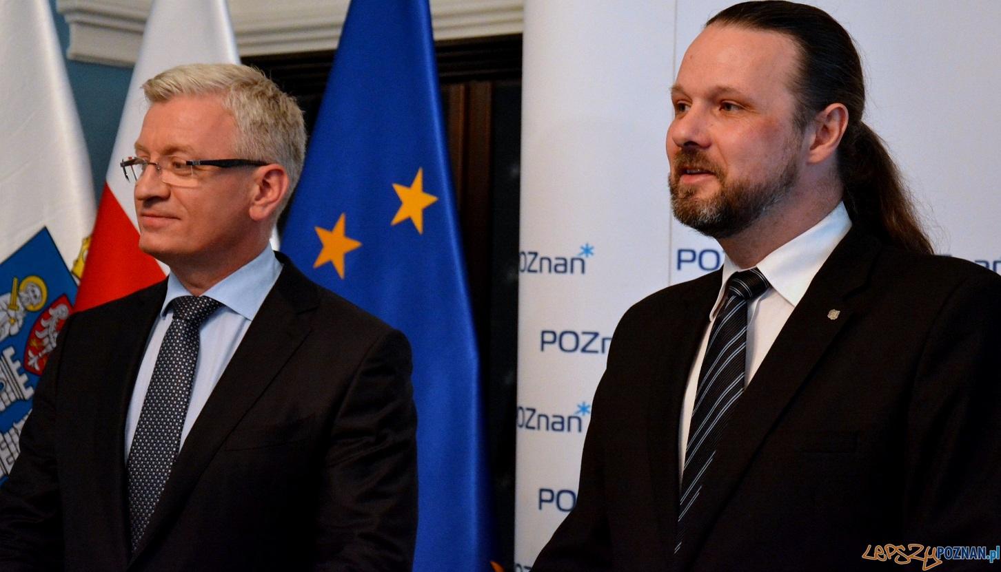 Piotr Sobczak i Jacek Jaśkowiak  Foto: UMP