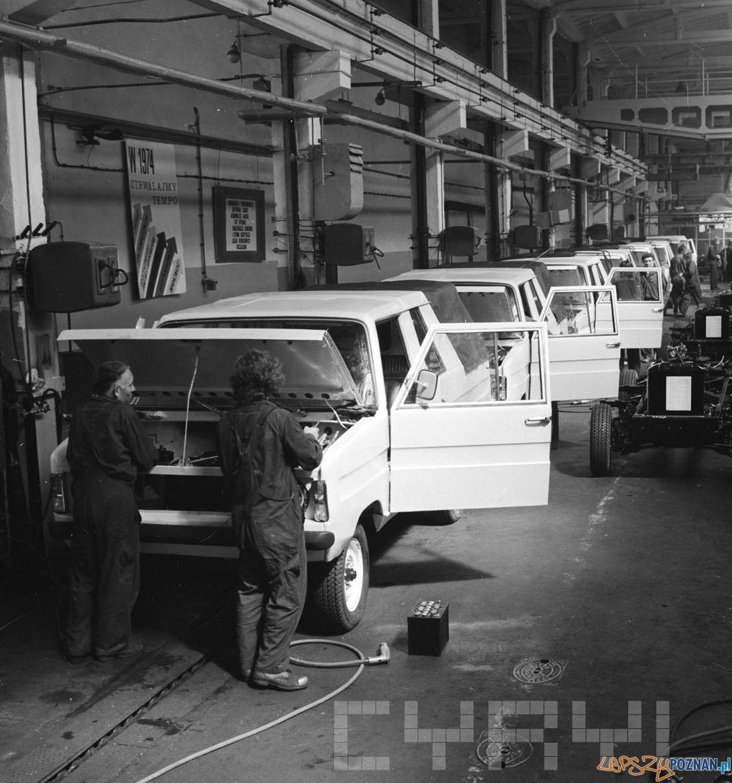 Montaż Tarpana wersja pick-up 14.08.1974  Foto: Stanisław Wiktor / Cyryl